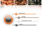 Shrimps And Crabs With Oysters PowerPoint Template#3