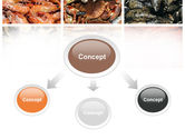 Shrimps And Crabs With Oysters PowerPoint Template#4