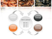Shrimps And Crabs With Oysters PowerPoint Template#6