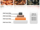 Shrimps And Crabs With Oysters PowerPoint Template#8