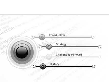 Personal Guarantee PowerPoint Template, Slide 3, 09749, Legal — PoweredTemplate.com