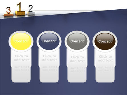 Pedestal Of Champions PowerPoint Template Slide 5