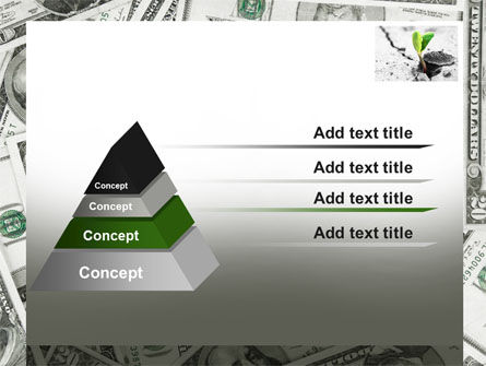 Sprout Of Money Tree PowerPoint Template Slide 12