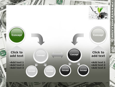 Sprout Of Money Tree PowerPoint Template Slide 19