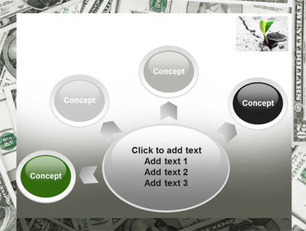 Sprout Of Money Tree PowerPoint Template Slide 7