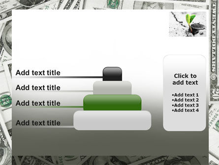 Sprout Of Money Tree PowerPoint Template Slide 8