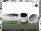 Sprout Of Money Tree PowerPoint Template#11