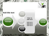 Sprout Of Money Tree PowerPoint Template#17