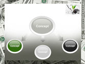 Sprout Of Money Tree PowerPoint Template#4