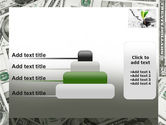Sprout Of Money Tree PowerPoint Template#8
