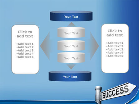Way To Success PowerPoint Template Slide 13