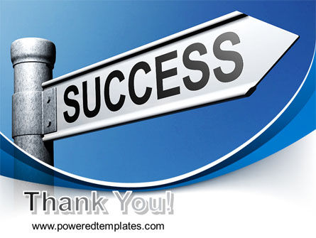 Way To Success PowerPoint Template Slide 20