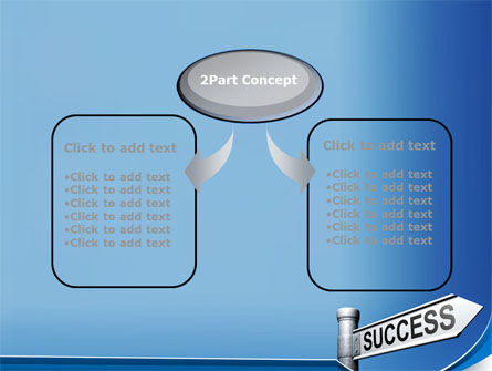Way To Success PowerPoint Template, Slide 4, 09753, Consulting — PoweredTemplate.com