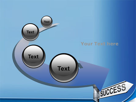 Way To Success PowerPoint Template Slide 6