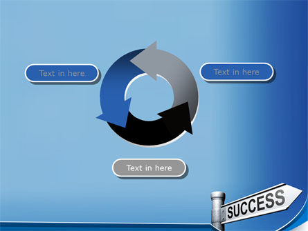 Way To Success PowerPoint Template Slide 9