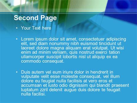 Glass Slides PowerPoint Template, Slide 2, 09754, Technology and Science — PoweredTemplate.com