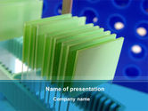 Technology and Science: Glass Slides PowerPoint Template #09754