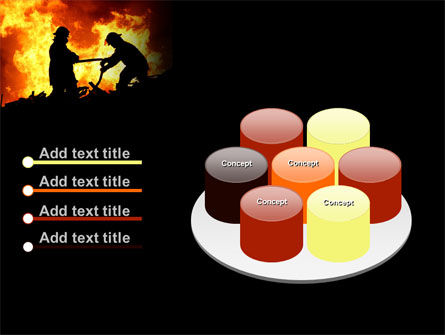 Firefighters PowerPoint Template Slide 12