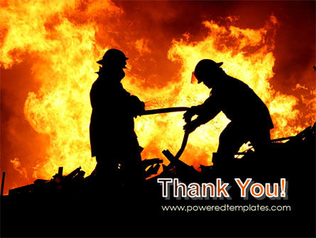 Firefighters PowerPoint Template Slide 20