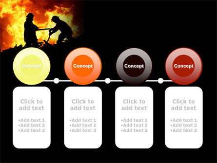 Firefighters PowerPoint Template Slide 5