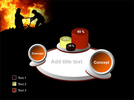 Firefighters PowerPoint Template Slide 6