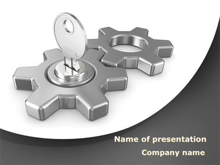 Key To Launch Process PowerPoint Template