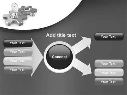 Key To Launch Process PowerPoint Template Slide 14