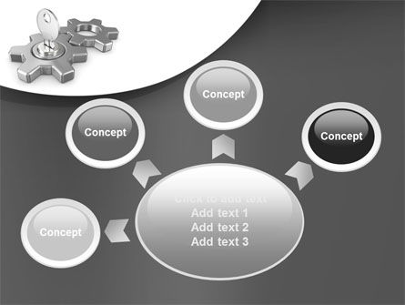Key To Launch Process PowerPoint Template Slide 7