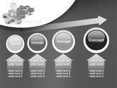 Key To Launch Process PowerPoint Template#13