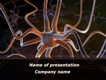 Medical: Neurocyte PowerPoint Template #09759