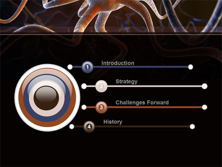 Neurocyte PowerPoint Template, Slide 3, 09759, Medical — PoweredTemplate.com