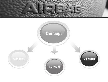 Airbag PowerPoint Template, Slide 4, 09760, Cars and Transportation — PoweredTemplate.com