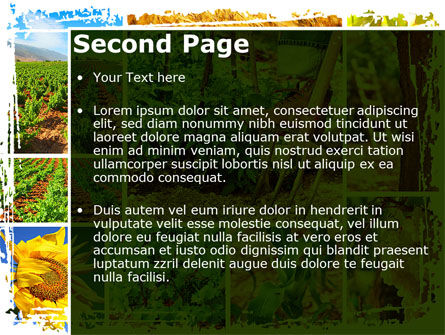 Farm Labor PowerPoint Template, Slide 2, 09763, Agriculture — PoweredTemplate.com