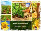 Agriculture: Farm Labor PowerPoint Template #09763