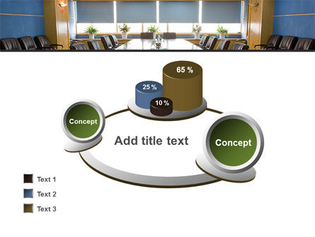 Corporate Conference Hall PowerPoint Template Slide 16