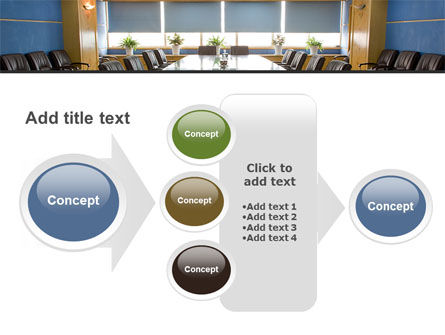 Corporate Conference Hall PowerPoint Template Slide 17