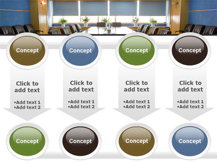 Corporate Conference Hall PowerPoint Template Slide 18