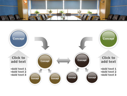 Corporate Conference Hall PowerPoint Template Slide 19