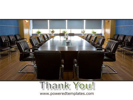 Corporate Conference Hall PowerPoint Template Slide 20