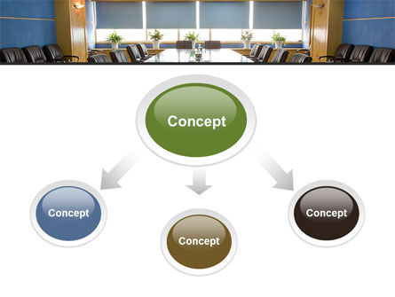 Corporate Conference Hall PowerPoint Template Slide 4