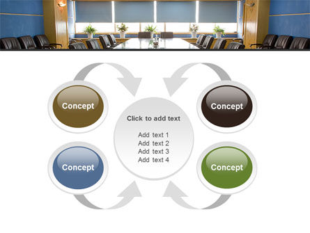 Corporate Conference Hall PowerPoint Template Slide 6