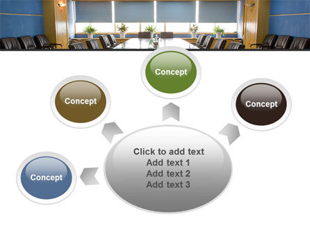 Corporate Conference Hall PowerPoint Template Slide 7