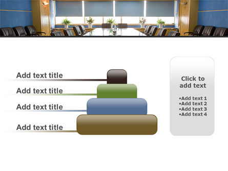 Corporate Conference Hall PowerPoint Template Slide 8