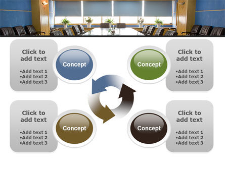 Corporate Conference Hall PowerPoint Template Slide 9