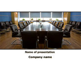 Business: Corporate Conference Hall PowerPoint Template #09766