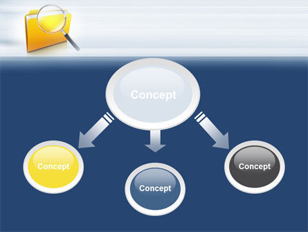 Searching Documents PowerPoint Template, Slide 4, 09771, Consulting — PoweredTemplate.com