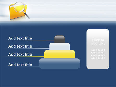 Searching Documents PowerPoint Template Slide 8