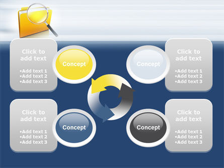Searching Documents PowerPoint Template Slide 9
