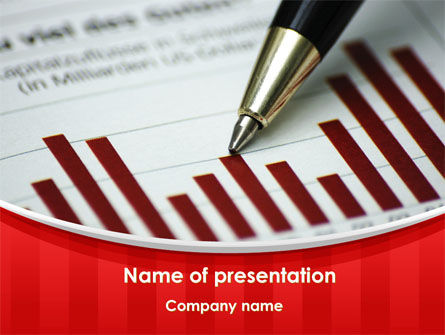 Financial/Accounting: Trend Analysis PowerPoint Template #09773