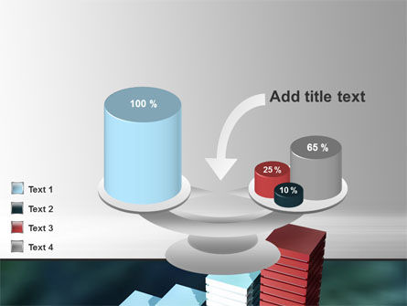 Bar Chart PowerPoint Template Slide 10